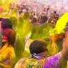 Holi, the festival of colours in India
