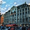 The marvelous Dam Square of Amsterdam
