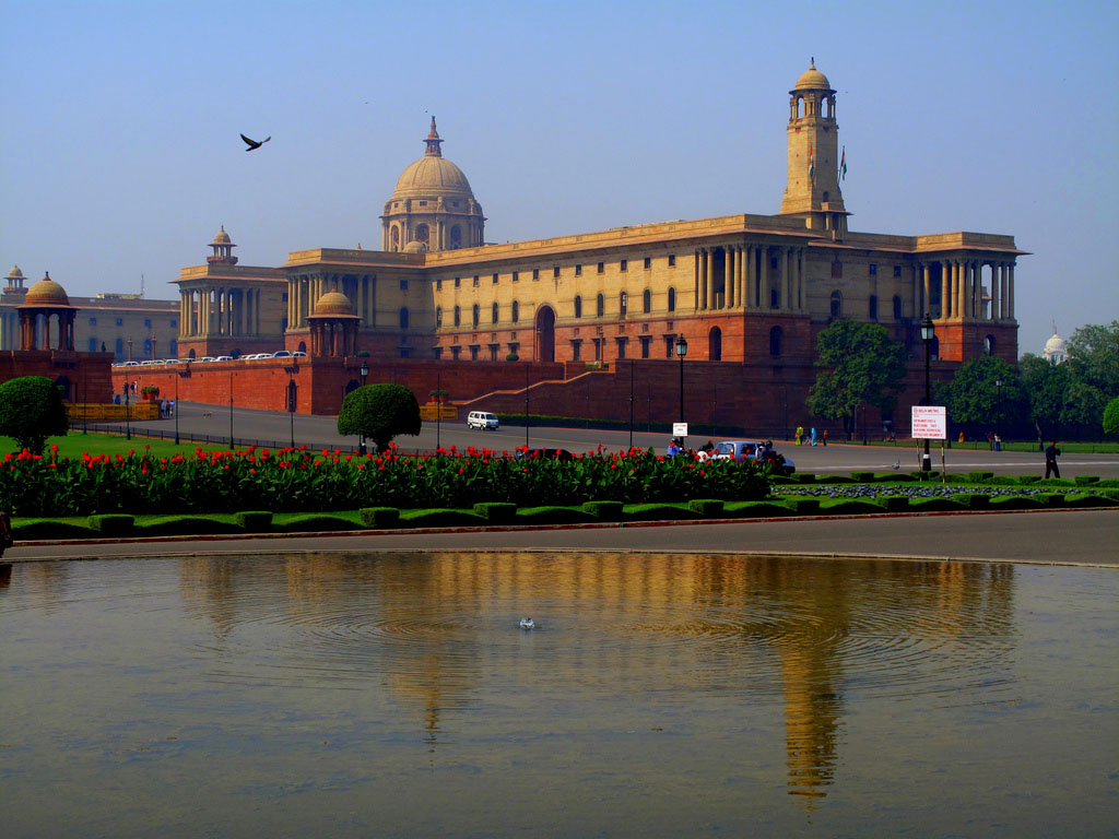 Government building in New Delhi, India