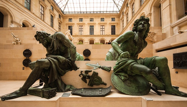 Sculptures at Louvre