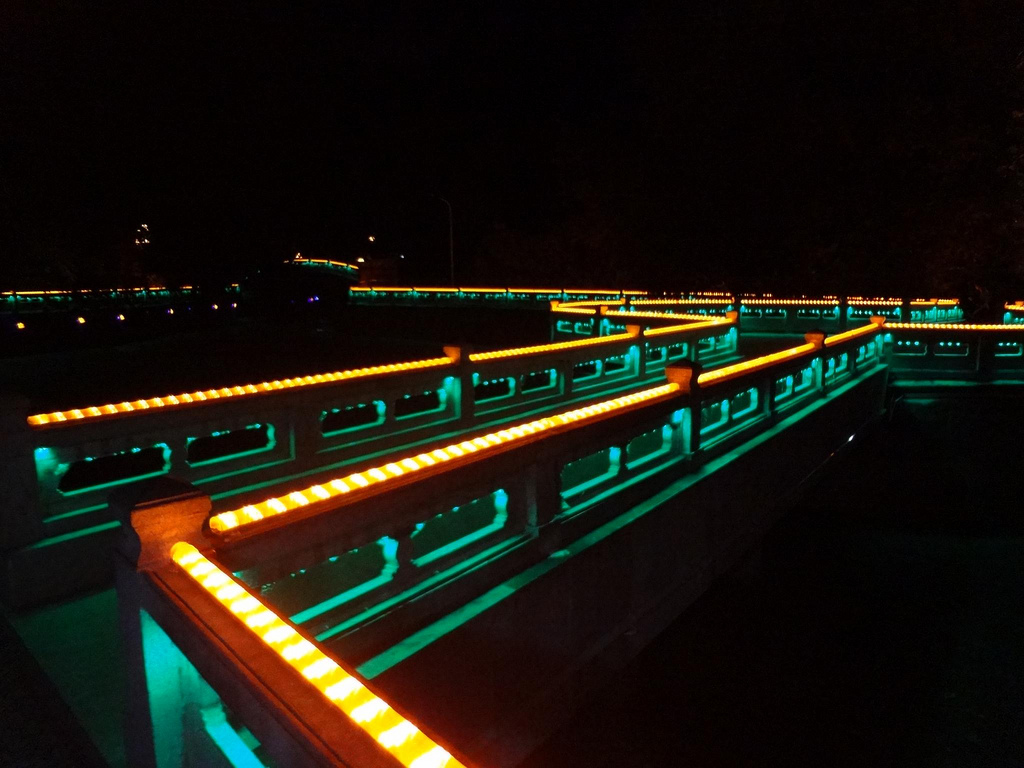 Lhasa City by night