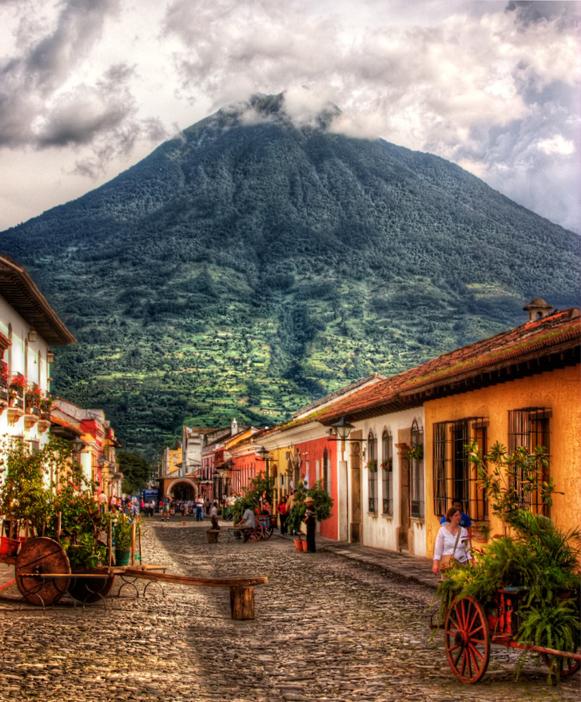 Antigua Guatemala Precise Depiction