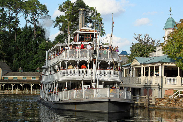 Magic Kingdom's Steamboat