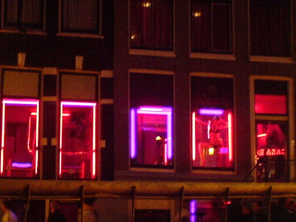 Amsterdam Red Light District sample