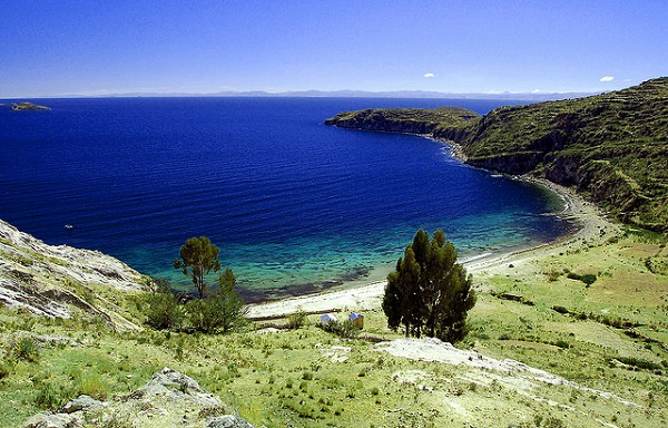 Lake Titicaca Shore