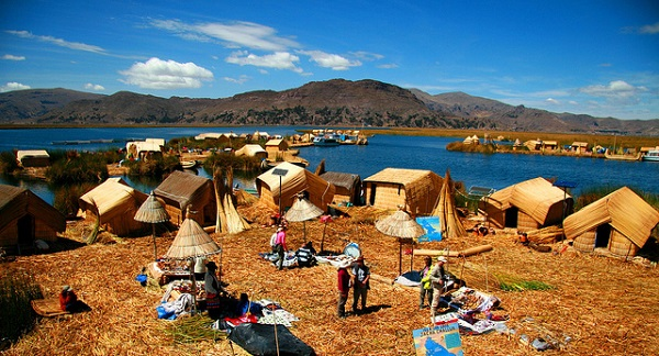 Lake Titicaca Uros Islands