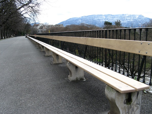World's Longest Bench