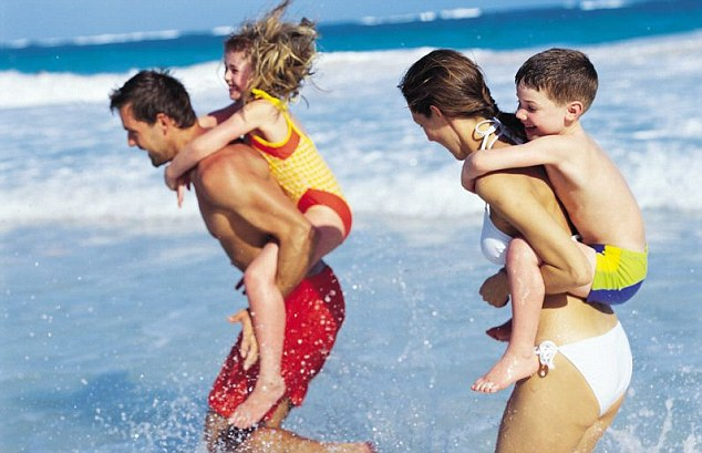 Stress Levels Low on a Family Holiday