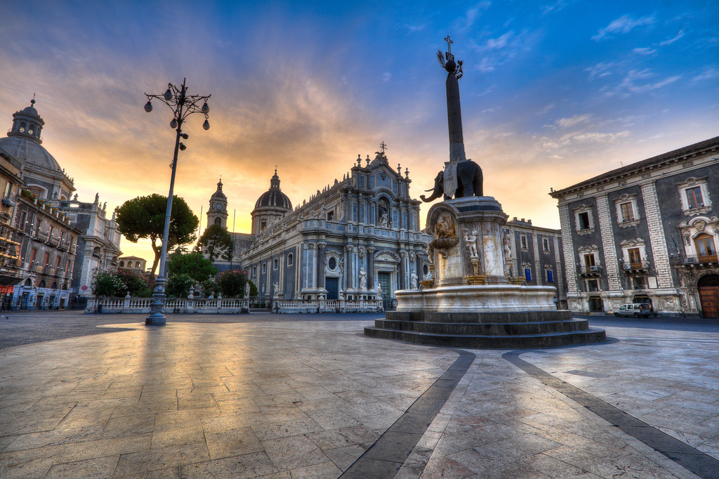 A new day in Catania