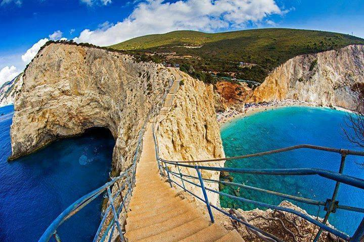Porto katsiki beach in Lefkada island, Greece3