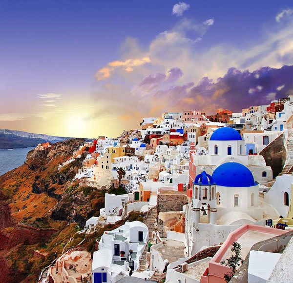 Santorini island, Greece2