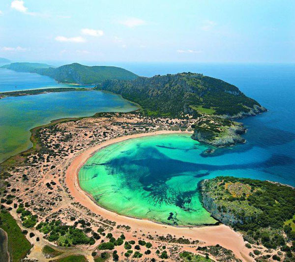 Voidokoilia, Messinia, Greece