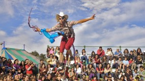 The biggest circus festival in the world, La Convencion in Buenos Aires