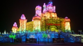 Harbin Ice Sculpture Festival in China | Dip below zero