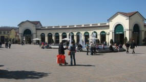 Serravalle Outlet in Alessandria in Italy | 180 shopping stores