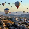 Flying over Cappadocia in a hot air balloon | Turkey