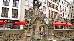 Discover the beautiful fountains of Cologne   Germany