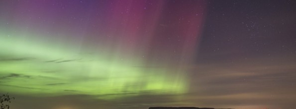 On Experiencing the Northern Lights in the UK
