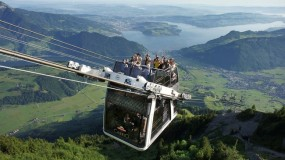 Bird's eye views — 4 fantastic cable cars