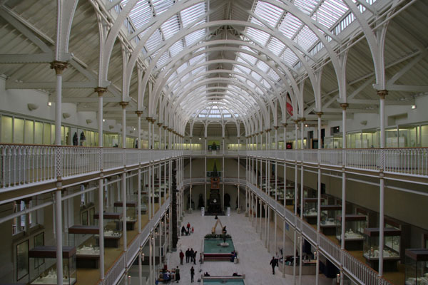 National museum of Scotland, Edinburg