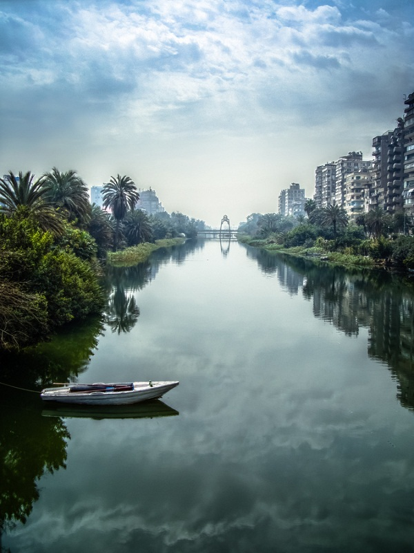 Egypt The Nile river