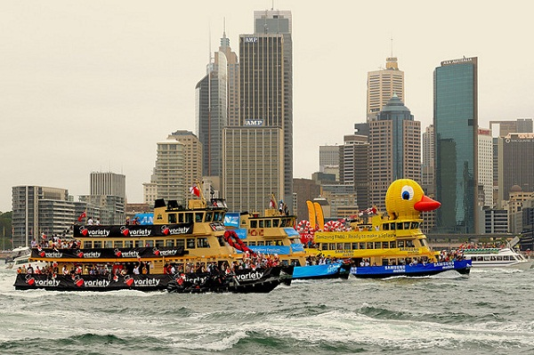 Australia Day Duck Ship