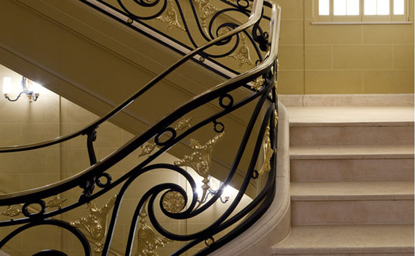 Cafe Royal Hotel historic staircase