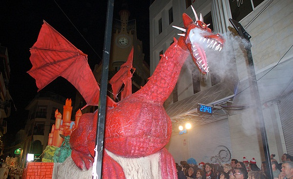 Sitges Carnival Dragon