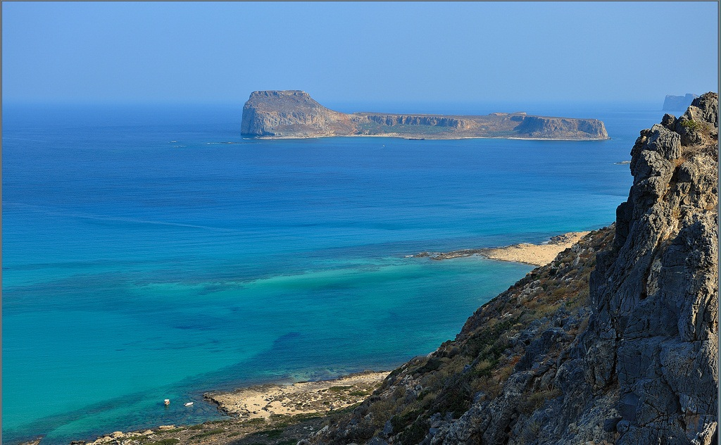 Gramvousa island, view from balos