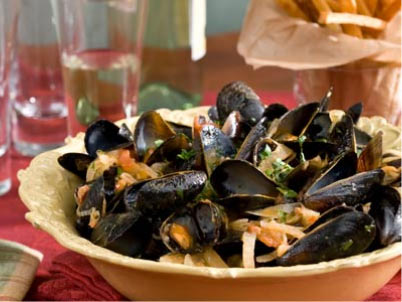 Mussles in France