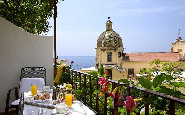 Amalfi Coast Hotel Breakfast