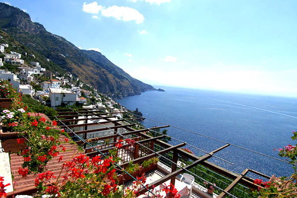 Amalfi Coast Hotel View