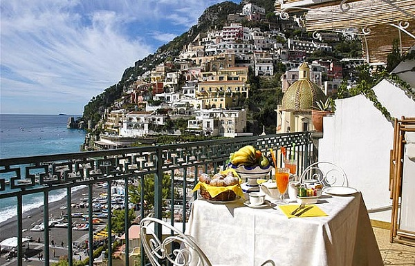 Amalfi Coast Terrace View