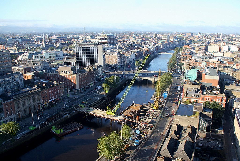 Dublin Panorama from Liberty Hall