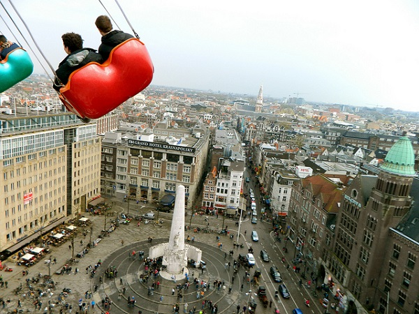 Dam Square from above