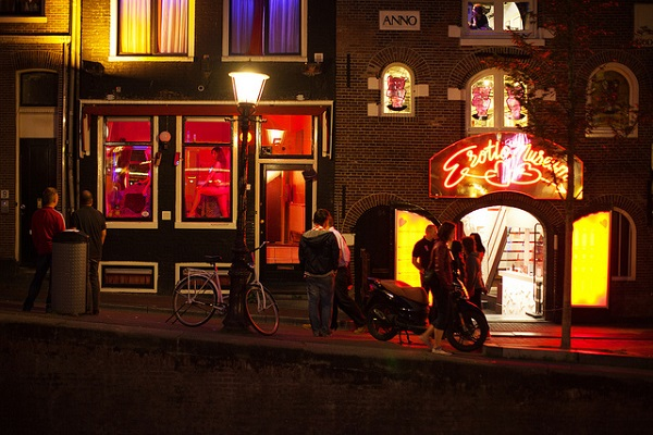 Erotic Amsterdam Red Light District