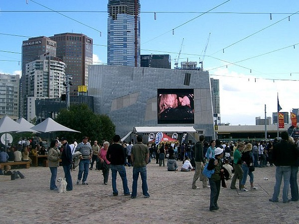 Federation Square Shopping