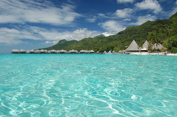 French Polynesia Moorea Beach