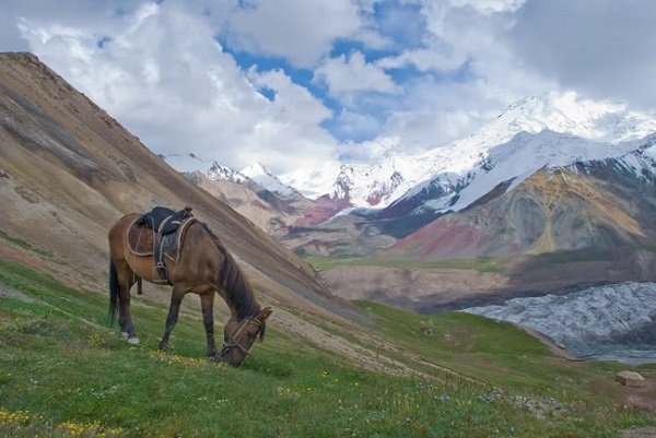 Pamir Mountains Range
