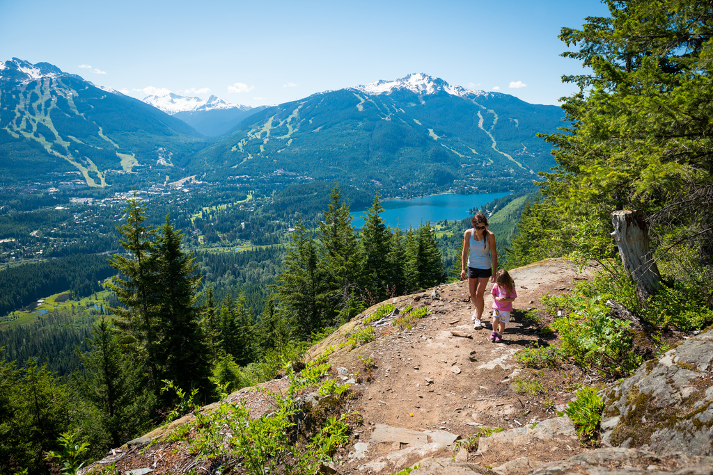 Family Hike on Whistlers Flank Trail