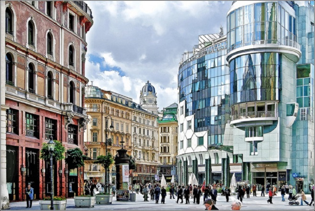 Vienna old and new