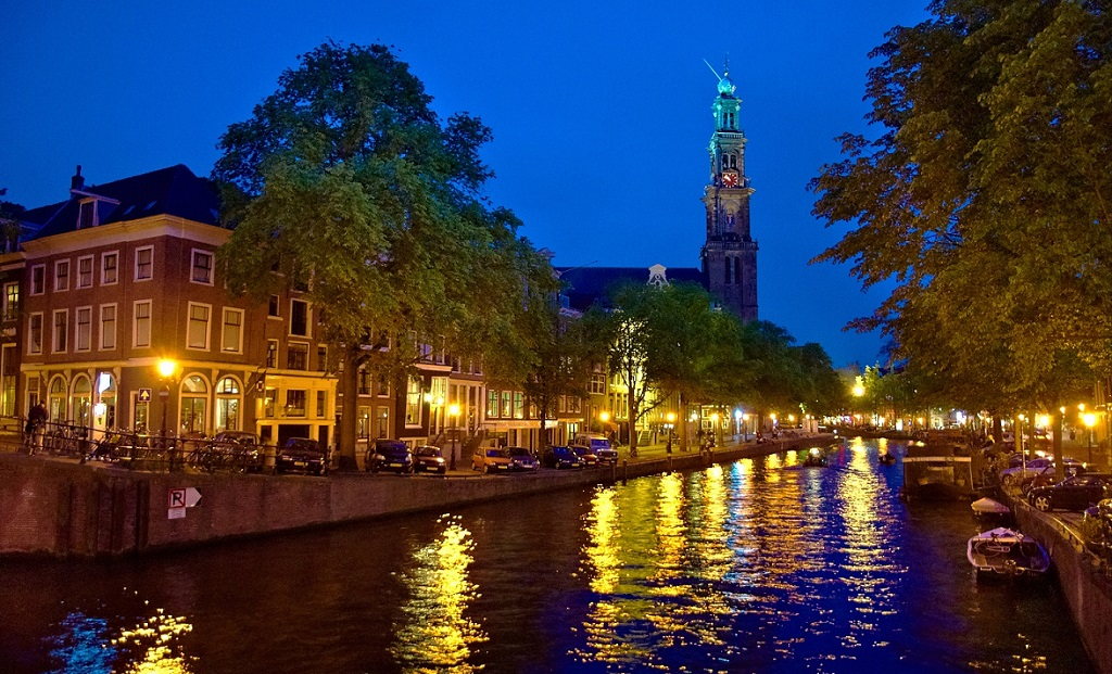 Amsterdam at Night