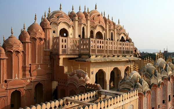 Backside of the Palace of the Winds, India