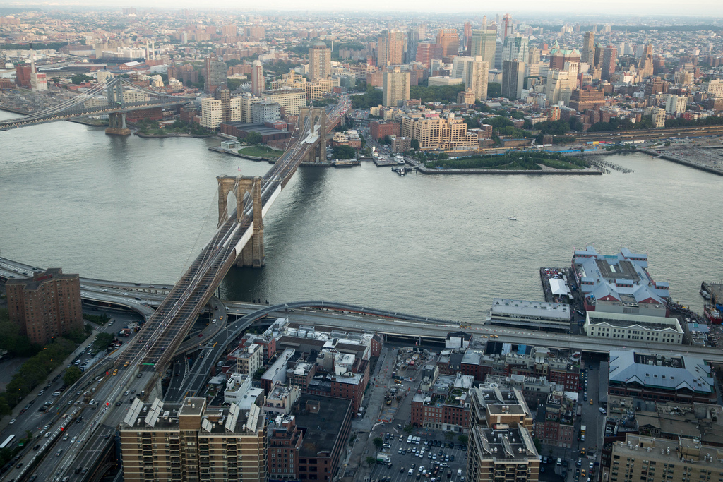 View from New York by Gehry