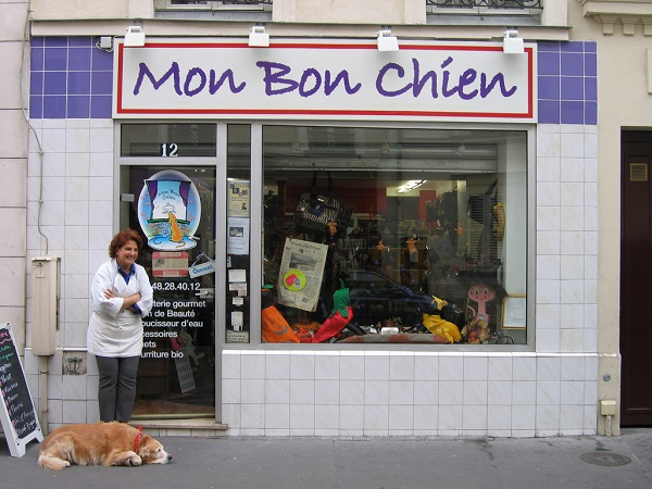 Mon Bon Chien, for its eyes only